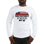 America the Free Long Sleeve T-Shirt