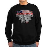 America the Free Sweatshirt (dark)