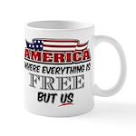 America the Free Mug