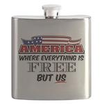 America the Free Flask