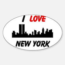 I love NY Decal