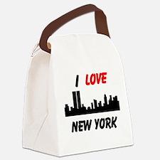 I love NY Canvas Lunch Bag