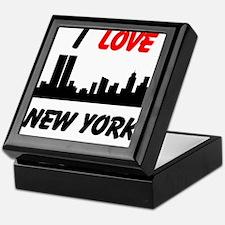 I love NY Keepsake Box