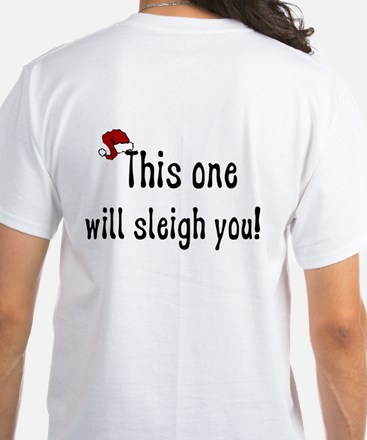 What Do Reindeer Say White T-Shirt