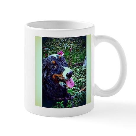 Berner Amid Flowers Mug