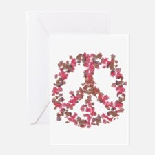 Affection Flower Peace Greeting Card