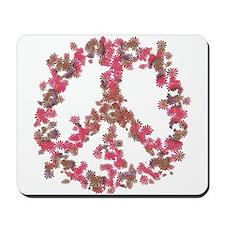 Affection Flower Peace Mousepad
