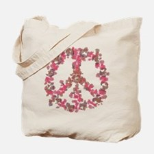 Affection Flower Peace Tote Bag