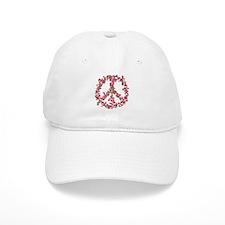 Affection Flower Peace Baseball Cap