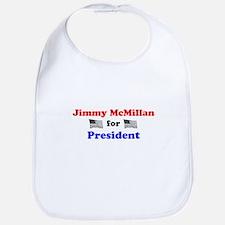 Jimmy McMillan for President Bib