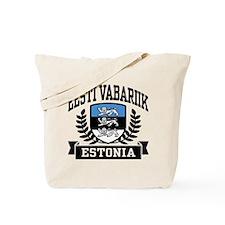 Eesti Vabariik Estonia Tote Bag