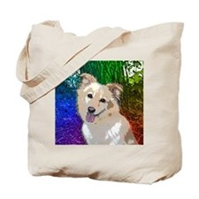 Polly Rainbow Tote Bag