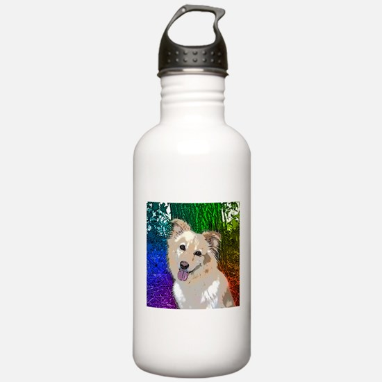 Polly Rainbow Sports Water Bottle