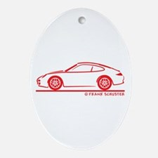 911 Ornament (Oval)
