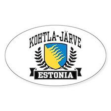 Kohtla Jarve Estonia Decal