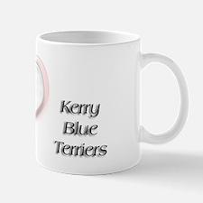 I heart Kerry Blue Terriers Mug