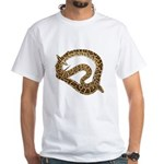 Plane in a Snake White T-Shirt