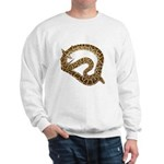 Plane in a Snake Sweatshirt