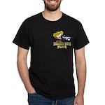 Snakes On A Plane Black T-Shirt