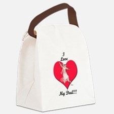 kitdadtshirt.png Canvas Lunch Bag