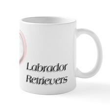 I heart Labrador Retrievers Mug