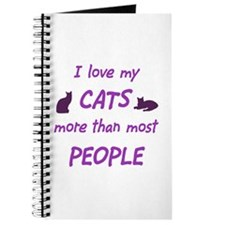 I Love My Cats Journal