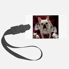 French Bulldog Mother & Puppi Luggage Tag