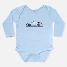 911 997 Cabrio Long Sleeve Infant Bodysuit