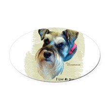 billitee.png Oval Car Magnet