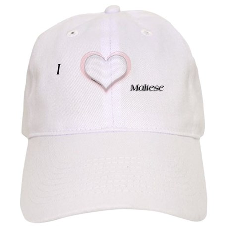 I heart Maltese Cap