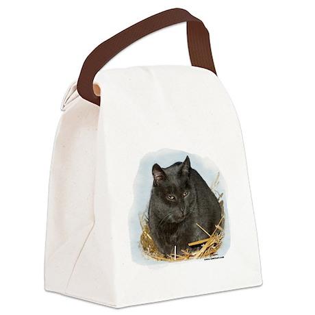 jonesstrawtshirt.png Canvas Lunch Bag