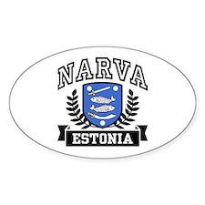 Narva Estonia Decal