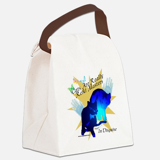 catmastertshirtbl.png Canvas Lunch Bag