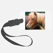 Classic Mini Horse Portrait Luggage Tag