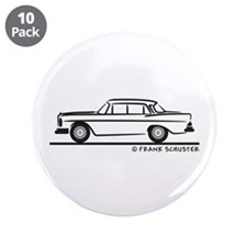 "Mercedes W112 200 SE 3.5"" Button (10 pack)"