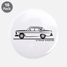 "Mercedes W112 200 SE 3.5"" Button (10 pack)"