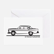 Mercedes W112 200 SE Greeting Card