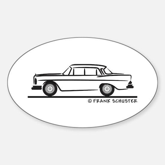 Mercedes W112 200 SE Sticker (Oval)