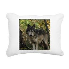 7wolftee.png Rectangular Canvas Pillow