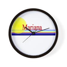 Mariana Wall Clock