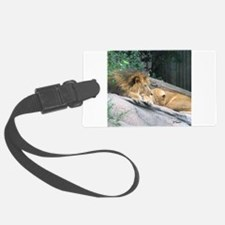 Picturesque Lions Luggage Tag