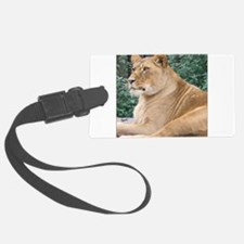 Lioness Portrait Luggage Tag
