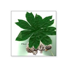 """mayleaftile.png Square Sticker 3"""" x 3"""""""