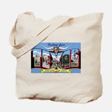 Texas Greetings Tote Bag