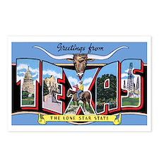 Texas Greetings Postcards (Package of 8)