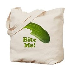 Bite Me! Pickle Tote Bag