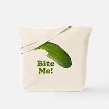 Bite Me! Pickle Tote Bag