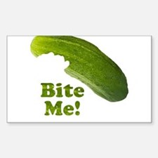 Bite Me! Pickle Decal
