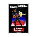 John Dwaine Mini Poster Print
