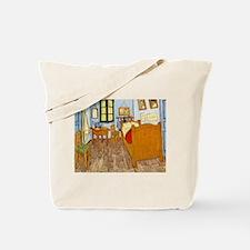 Bedroom at Arles Tote Bag